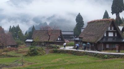 「船でしか行けない秘境の一軒宿:大牧温泉」に宿泊した富山の旅⑥~最後は世界遺産「五箇山」です。今年もまた、雨でした・・・。
