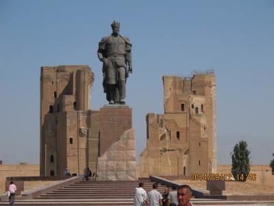 遥かなるウズベキスタンの旅(3):シャフリサーブズ(+夜のブハラ)編(観光3日目)