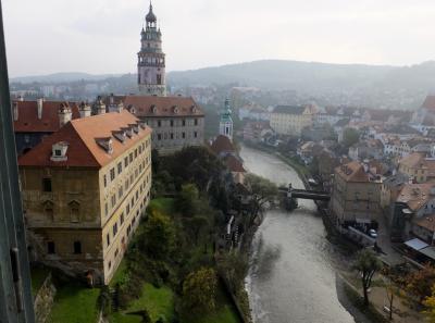写真で見る、~世界遺産チェスキー・クルムロフにも滞在~中欧4カ国・魅力の街々を訪ねる9日間 №~8 チェスキー・クルムロフ城観光旅行記