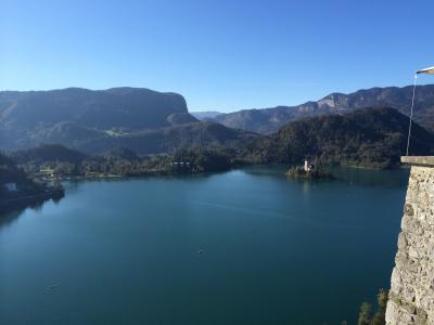 2014/10 スロベニア&クロアチア&ボスニア周遊ツアー[2] 2日目 ブレッド湖