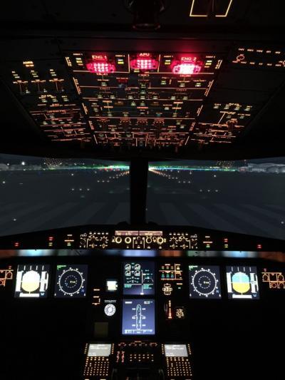 横浜上空!フライトシミュレーションA320
