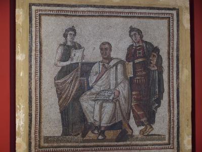 古代ローマ時代のモザイクが量、質ともに圧倒的なバルドー博物館
