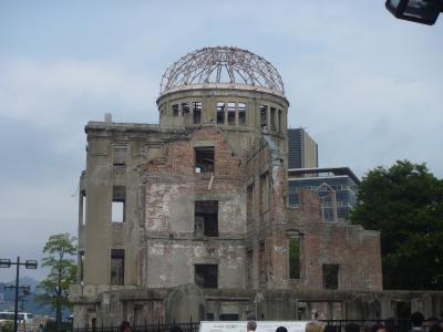 初めての広島、ここは行っておかないと