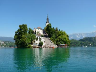 青いアルプスの瞳、ブレッド湖とスロベニア