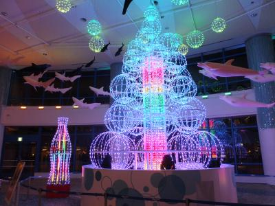 2014年イルミネーションを見に行こう!!! 東京湾の夜景と輝くレインボーブリッジ・お台場のイルミネーションの饗宴