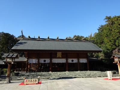 桜木神社で冬に見る桜チェック