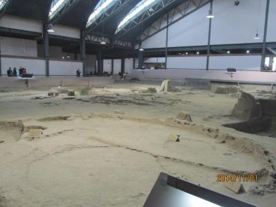 西安の半坡遺址博物館