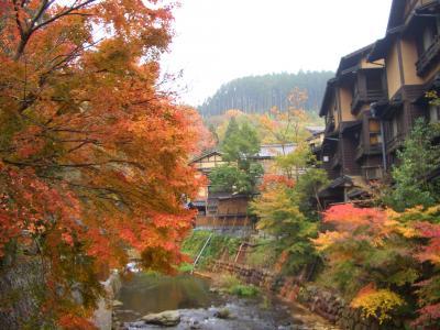 LCCで行く秋の黒川温泉!
