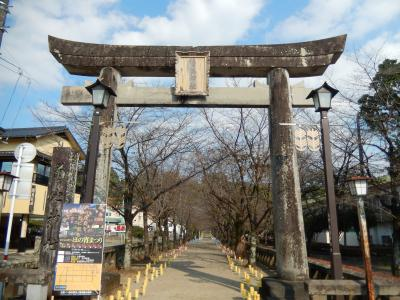 熊本・菊池市街散策と菊池神社参拝