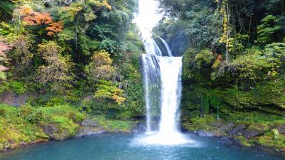 急に思い立って行った、熊本・大分 レンタカーでドライブ&観光と紅葉狩り1泊2日の旅【天ケ瀬温泉近くにある《慈恩の滝》に立ち寄り観光編】(2014年11月)