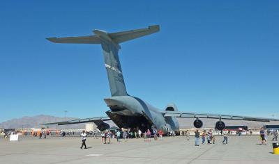 ネリス空軍基地航空ショー訪問記 (3) ショー第一日目