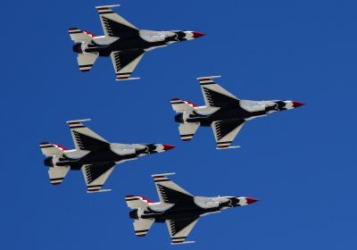 ネリス空軍基地航空ショー訪問記 (4) ショー第二日目