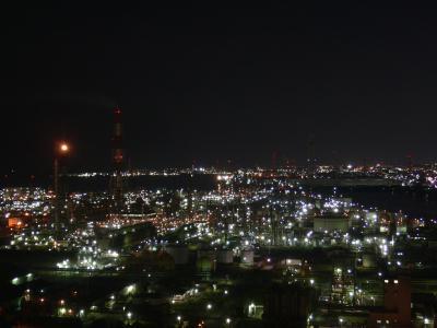 ★2010年7月★四日市コンビナートの夜景【三重】