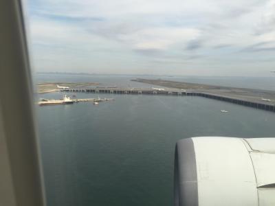福井→小松空港→羽田空港