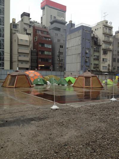 神田でキャンプだホイ