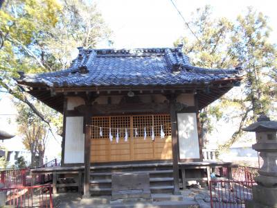 武蔵深谷 深谷上杉氏の祈願社で城の歴史的痕跡を残す 富士浅間神社散歩