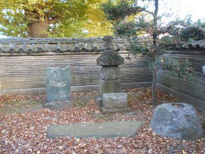 武蔵深谷 源平一ノ谷戦いで討たれた平忠度の霊を弔う供養塔が在る 清心寺散歩