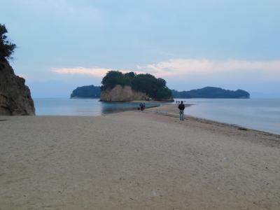小豆島をレンタカーでめぐる(その1) エンジェルロード・中山千枚田など