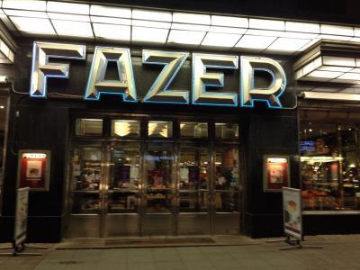 オーロラを求めて2014  (4)FAZER CAFE、ホテル