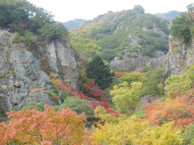 小豆島をレンタカーでめぐる(その2) 錦秋の寒霞渓を歩く