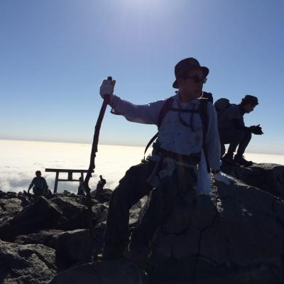 2014 秋 茶臼岳登山