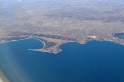 南米10日間(7) ティティカカ湖を上空から眺めながらイグアスへ