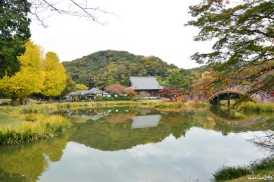晩秋の散歩:金沢文庫・称名寺~金沢八景・野島の旧伊藤博文金沢別邸へ