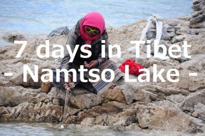 7 days in Tibet23★ナムツォ湖★天の湖とそこに集う人々