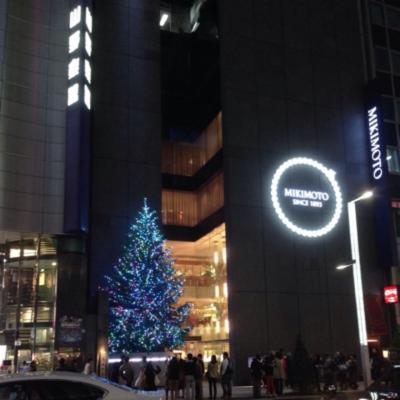 夜の銀座・街歩き