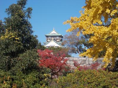 晩秋の京都・奈良・大阪を訪ねる(その3)大阪城