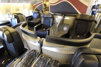 2014 Malliouhana  Anguilla&SXM ? Flight 復路 AA First-Class