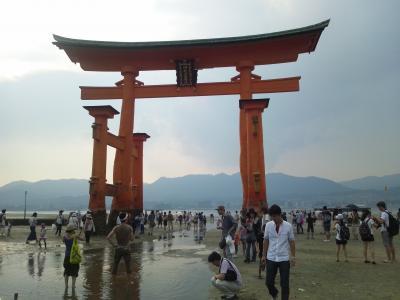 2013年8月広島の旅~ついでに寄った岡山・宮島編