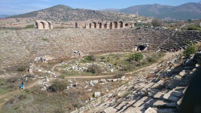 アフロディスィアス(西アナトリアの遺跡を巡る②アフロディスィアス遺跡をパムッカレからミニバスで日帰り。夕方ヒエラポリス散歩。)