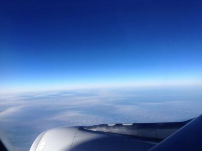 オーロラを求めて2014  (11)ヴァンター空港、出国