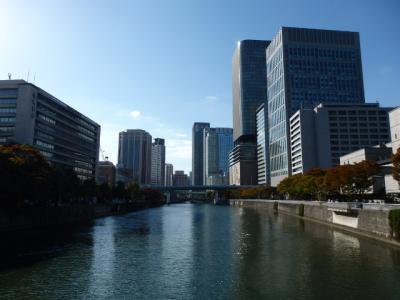 日本の旅 関西を歩く 大阪市の淀屋橋周辺