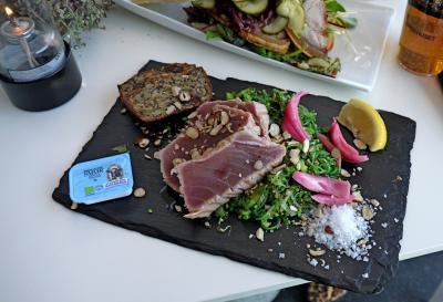 2014.9フィンランド・デンマーク旅行22-Helsingorの街,聖オーライ教会,聖マリア教会,文化ヤードのSpisehusで昼食
