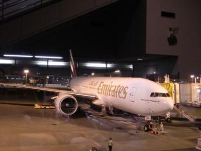 2011年7月スイス-1 エミレーツ航空でチューリッヒへ