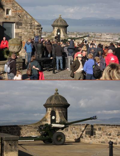 スコットランド・フランスの旅2014 5.エジンバラ城 Edinburgh Castle