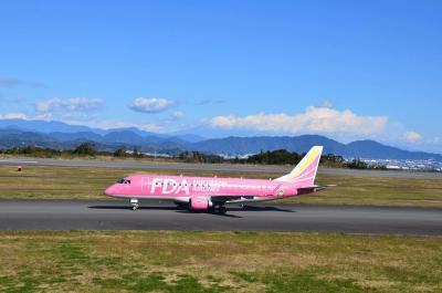 久しぶりの富士山静岡空港 2014.12. 06