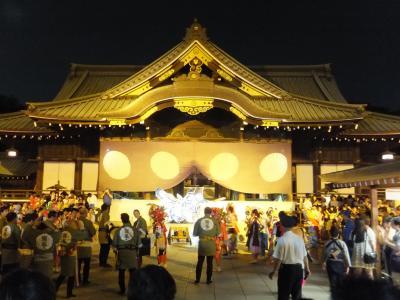2014 今年も靖国神社でみたま祭に行きました。