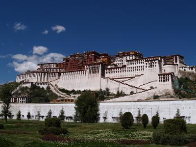 タルチョがたまらない、濃い!チベット一人旅