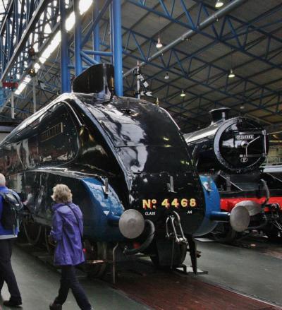 スコットランド・フランスの旅2014 7.ヨークの国立鉄道博物館 National Railway Museum.York