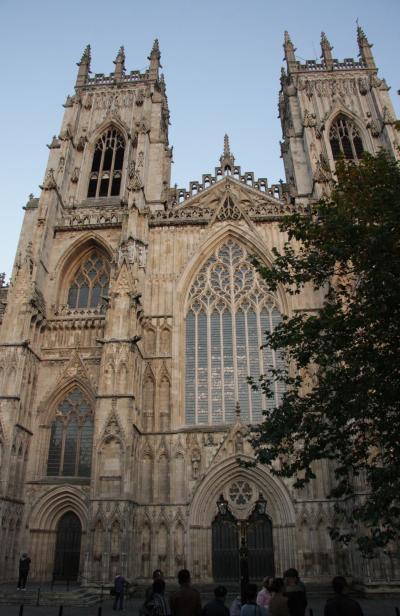 スコットランド・フランスの旅2014  8.ヨーク大聖堂と街歩き York Minster and town walk in York