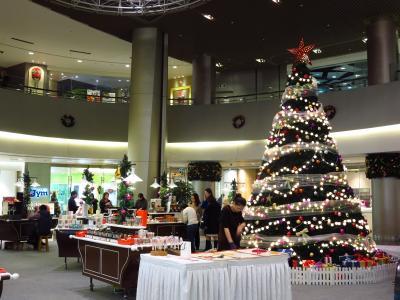 上海★浦東のクリスマス@上海環球金融中心