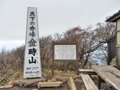 師走のトレッキング<2> (箱根・金時山)