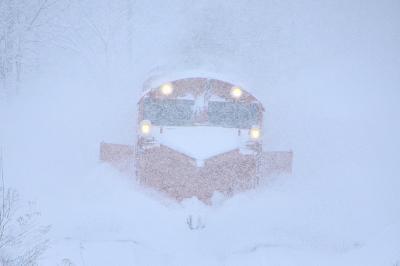 冬の北海道を巡る旅 ~宗谷本線の定期排雪列車(宗谷ラッセル)を追いかけて@天塩中川、音威子府 (リベンジ編)~