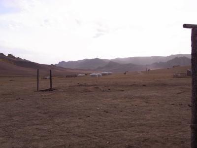 モンゴル 見渡す限り草原!