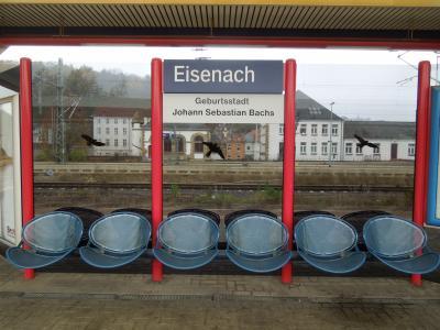 ヨハン・セバスティアン・バッハの足跡を訪ねて、ドイツ旅 その1 アイゼナッハまで
