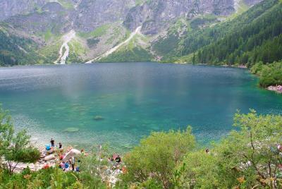 南ポーランド旅行1 ポーランドの山岳地で、「海の瞳」を見る。