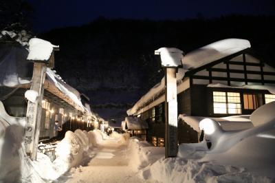 雪景色を見に秘湯乳頭温泉と角館に行ってきました。~乳頭温泉編~